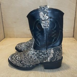 Kids Old West Western Boots